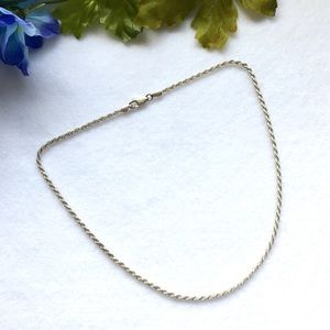 Antique Sterling Silver Necklace